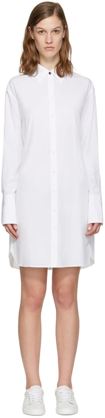 Rag and Bone White Essex Shirt Dress