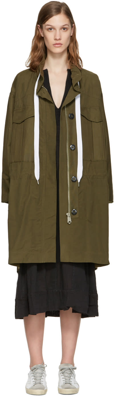 Rag and Bone Green Voltaire Jacket