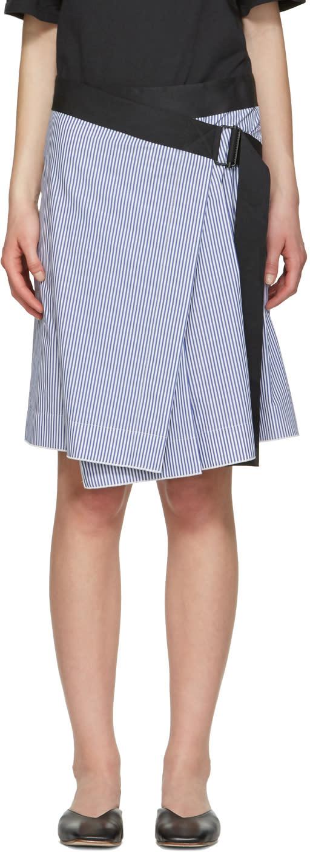 Rag and Bone Blue Lenna Skirt