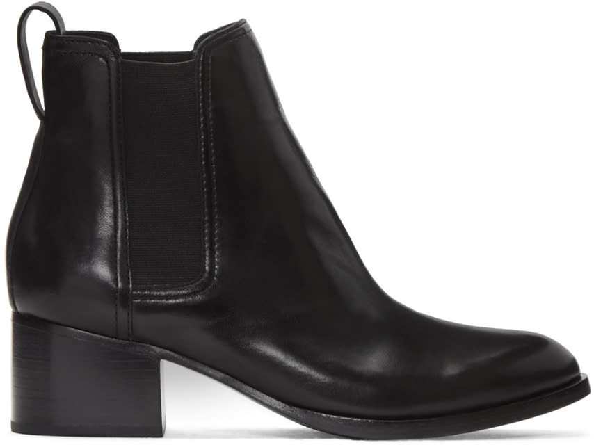 Rag and Bone Black Walker Boots