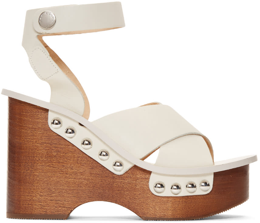 Rag and Bone Ivory Hester Sandals