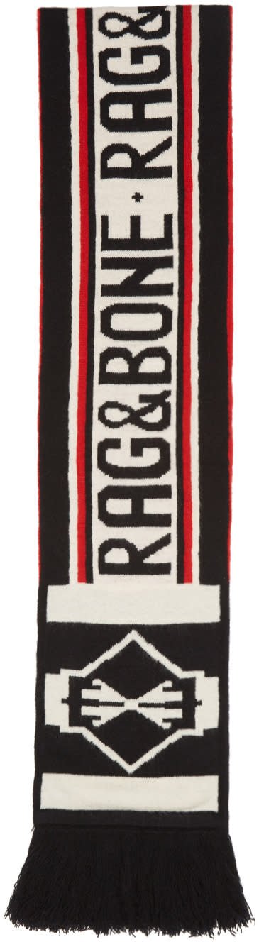 Rag and Bone Tricolor Matthew Scarf