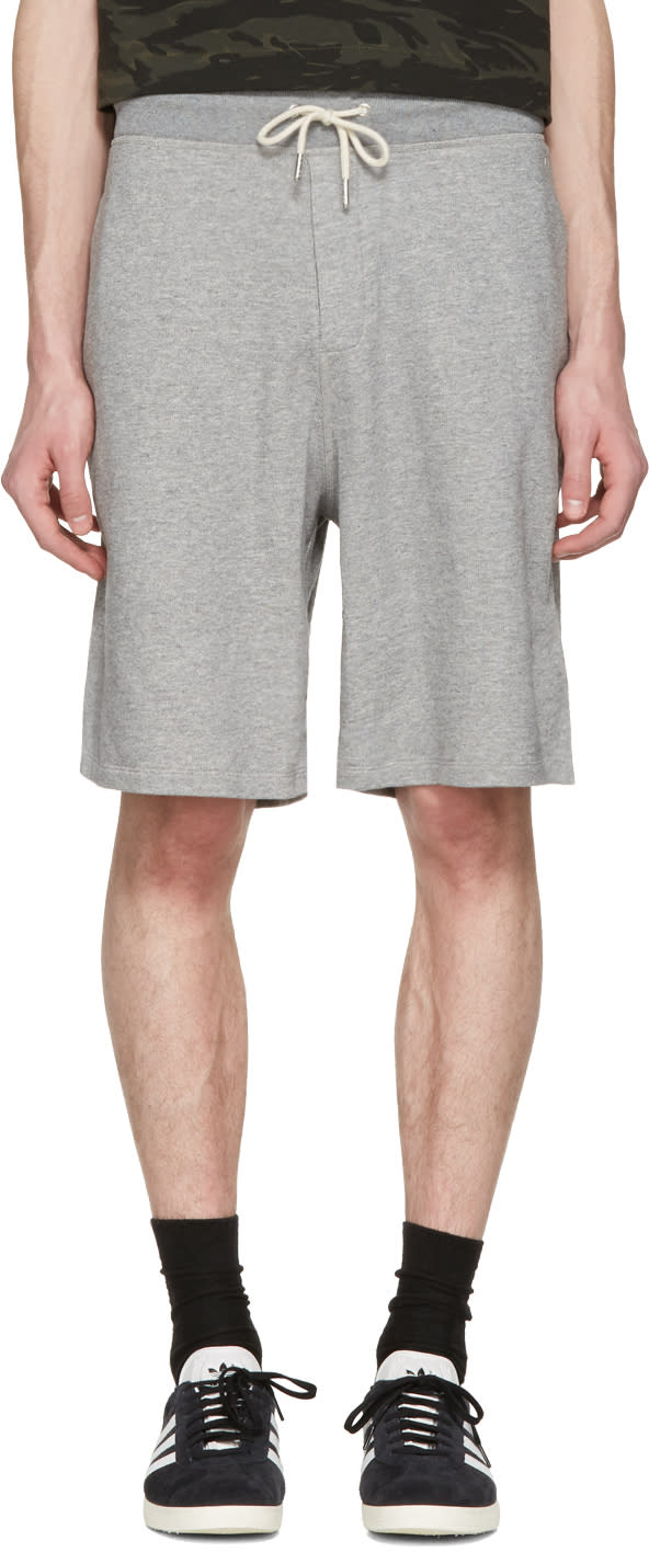 Rag and Bone Grey Standard Issue Sweat Shorts