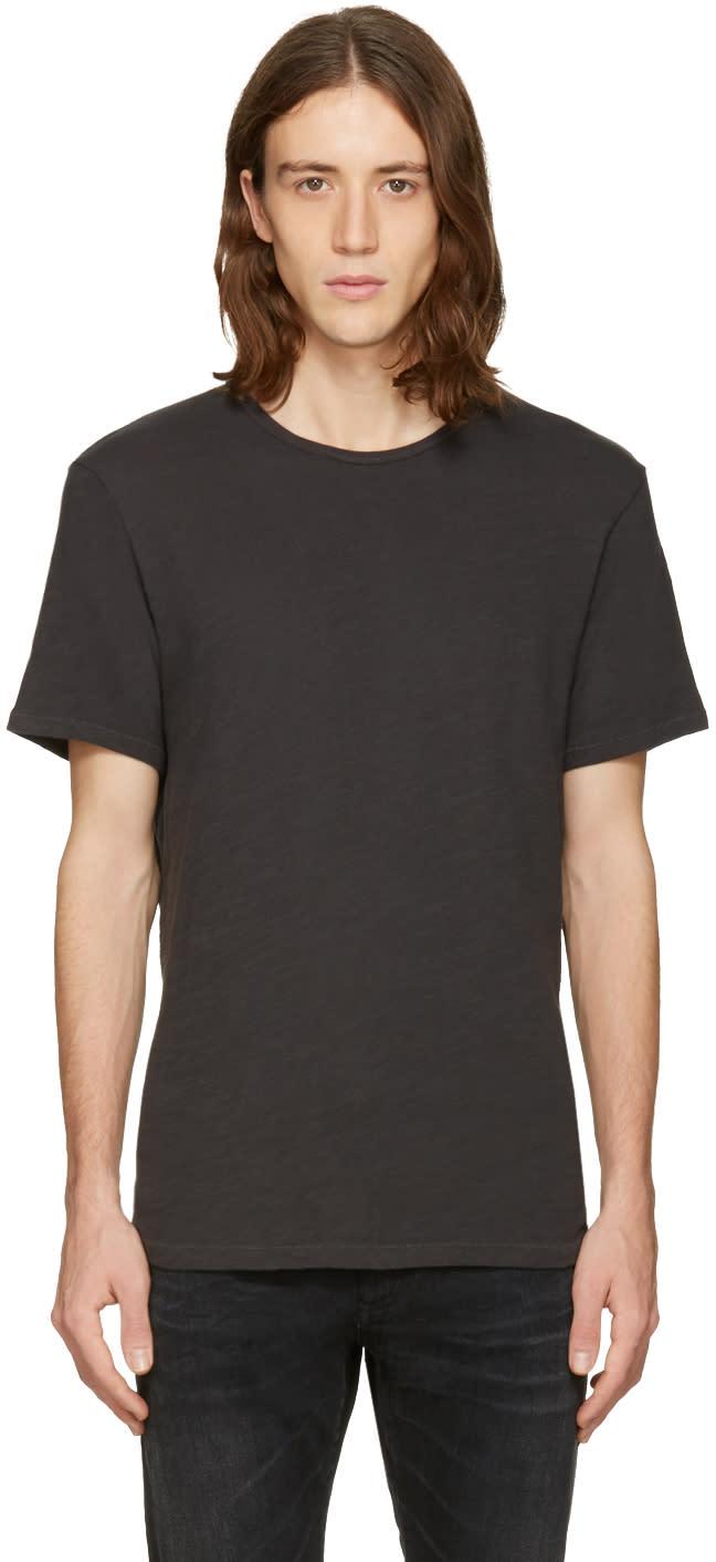 Rag and Bone Black Standard Issue T-shirt