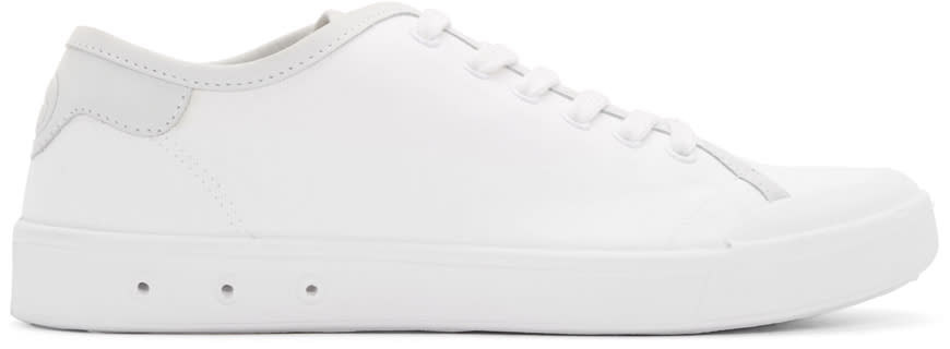 Rag and Bone White Standard Issue Low-top Sneakers