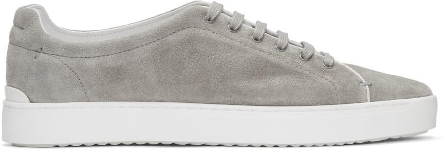 Rag and Bone Grey Suede Kent Sneakers