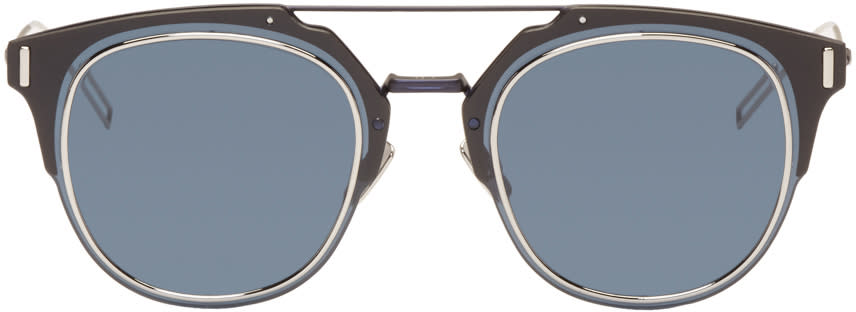Dior Homme Navy Composit 1.0 Sunglasses
