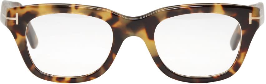 Tom Ford Tortoiseshell Tf 5178 Glasses