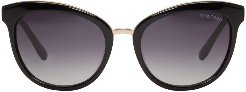 Tom Ford Black Emma Sunglasses