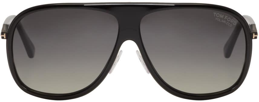 Tom Ford Black Chris Aviator Sunglasses