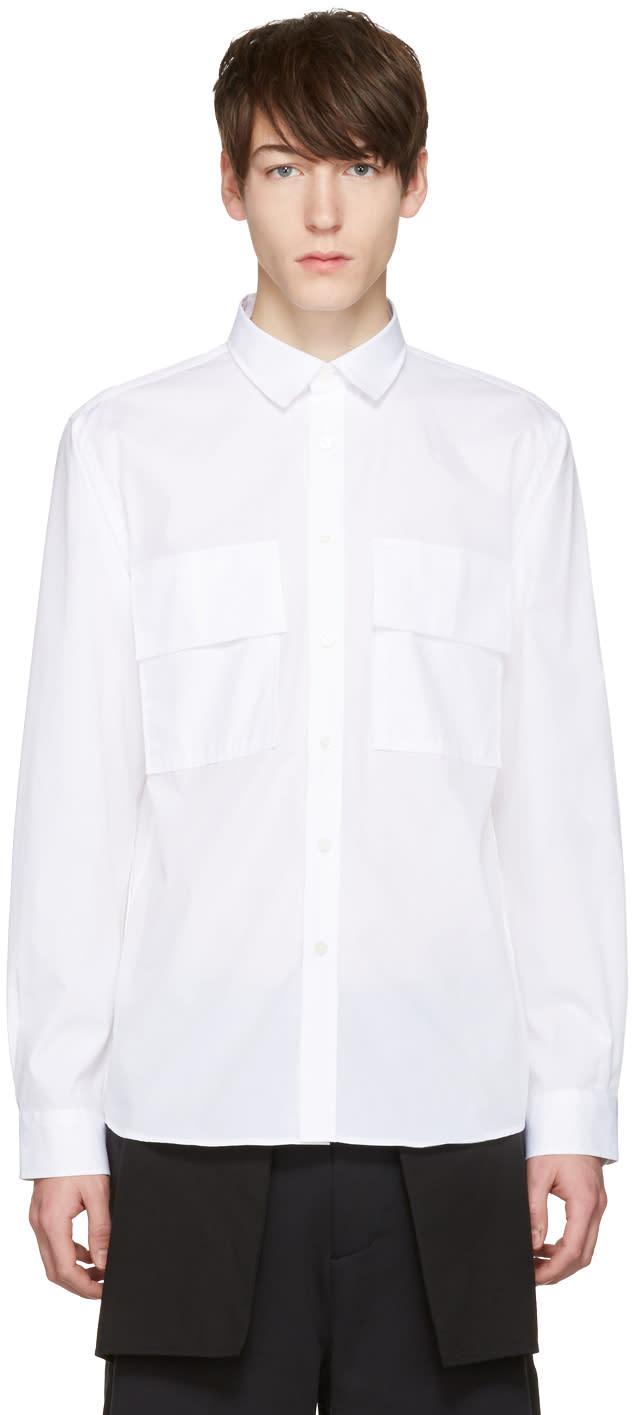 Public School White Craw Shirt