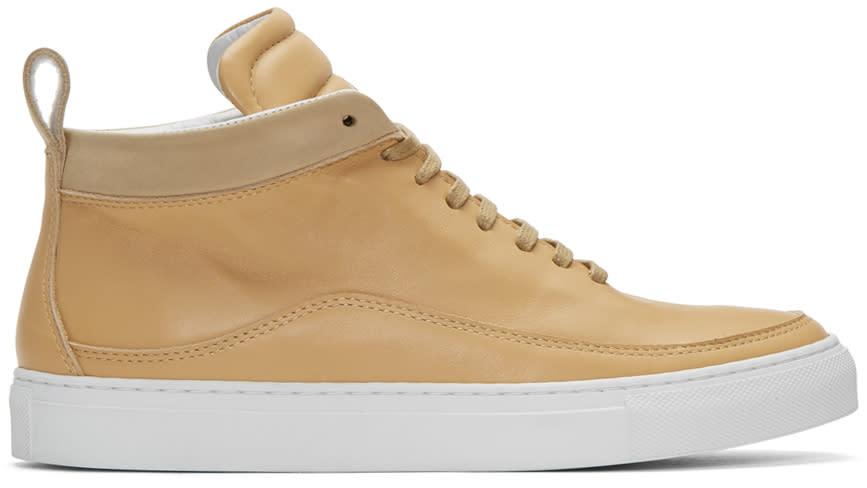 Public School Beige Braeburn High-top Sneakers
