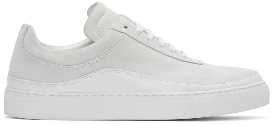 Public School White Leather Braeburn Sneakers