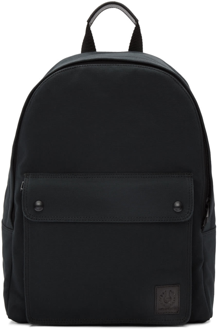 Belstaff Black Tufnell Backpack