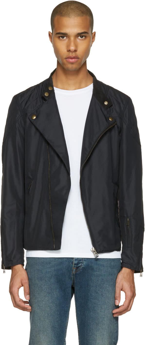 Belstaff Black Sophnet Capsule Water Jacket