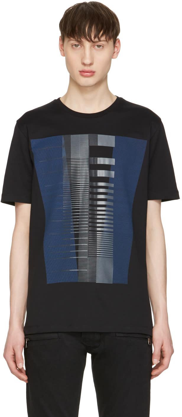 Diesel Black Gold Black Lines T-shirt