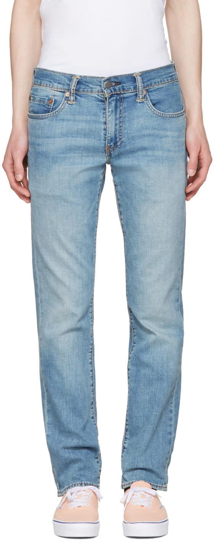Levis Blue 511 Jeans