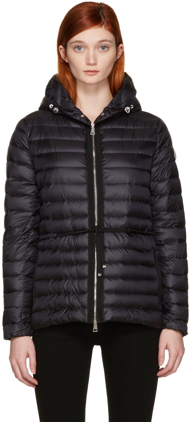 Moncler Navy Down Rale Jacket