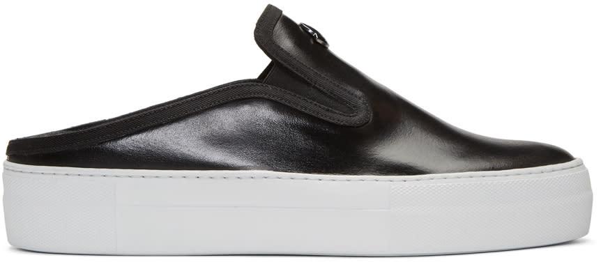 Moncler Black Tiphanie Slip-on Sneakers
