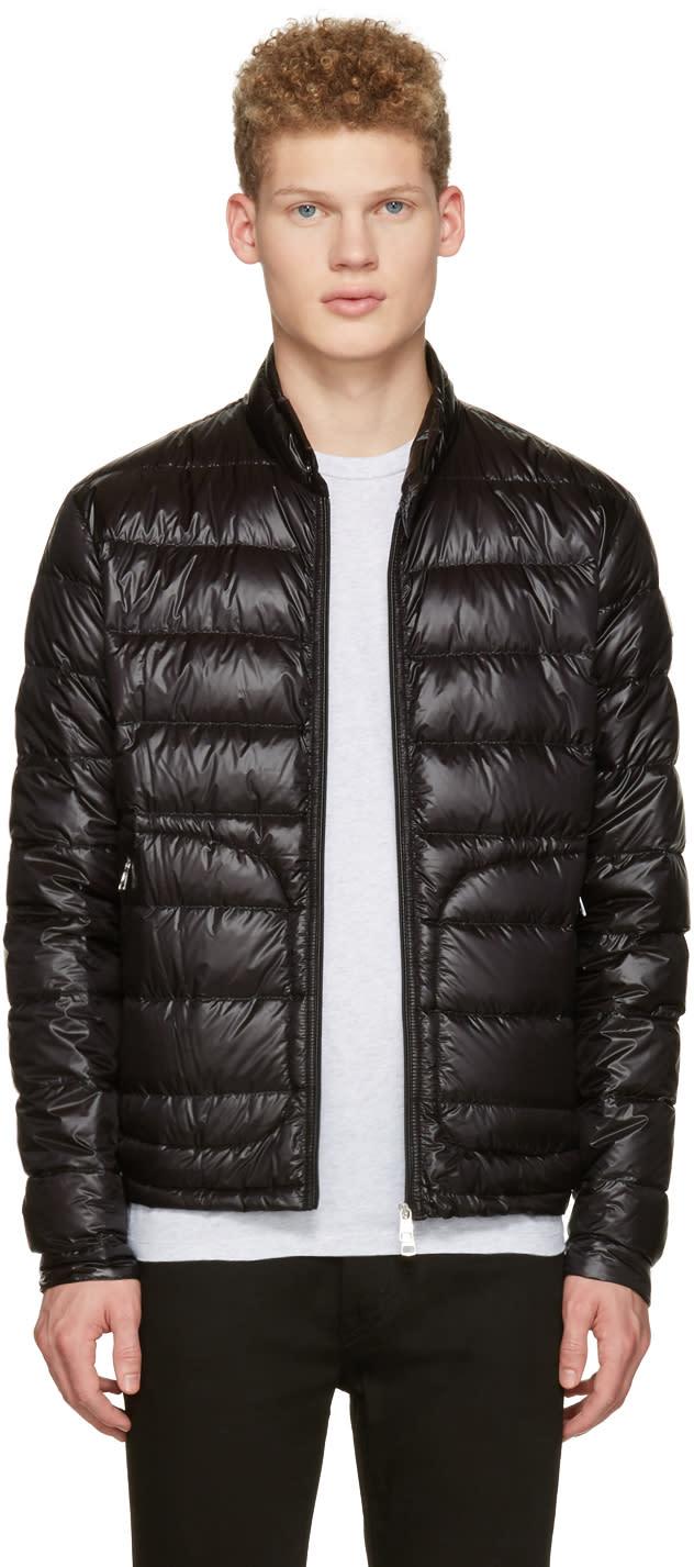 Moncler Black Down Acorus Jacket