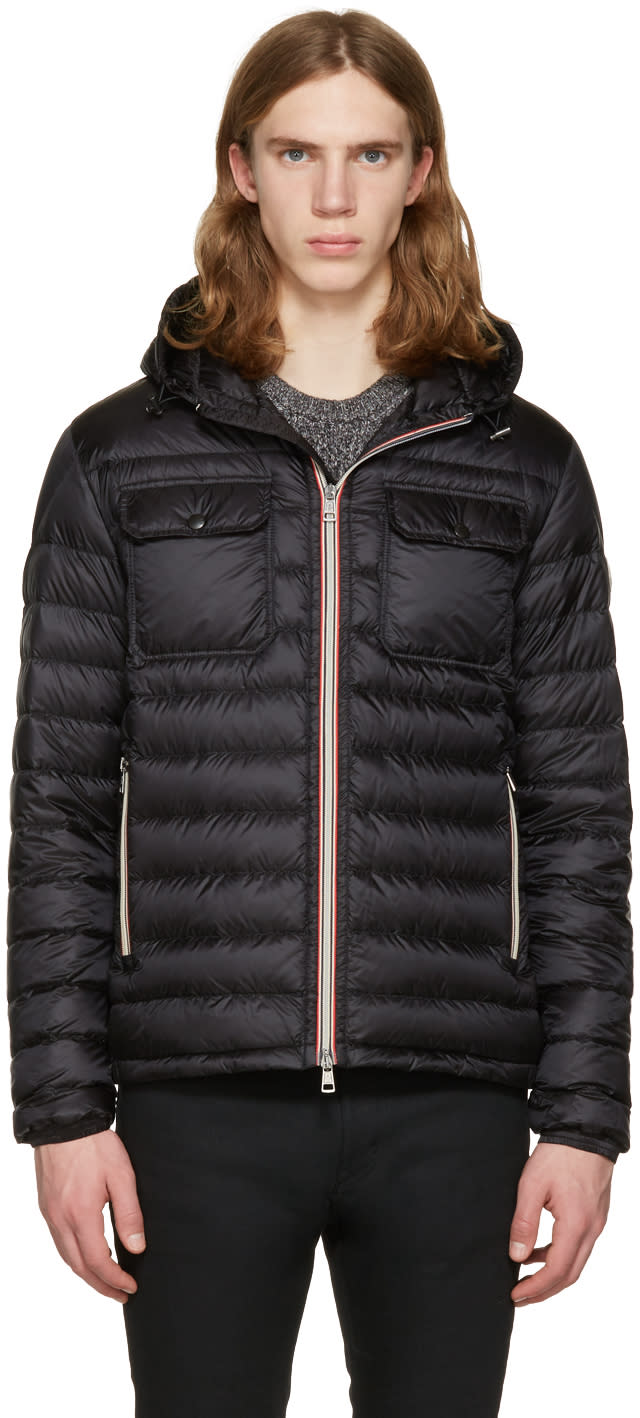Moncler Black Down Douret Jacket