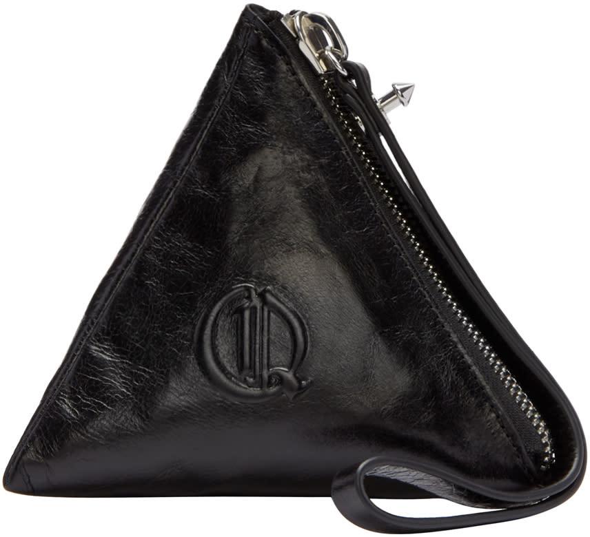 Mcq Alexander Mcqueen Black Pyramid Coin Pouch