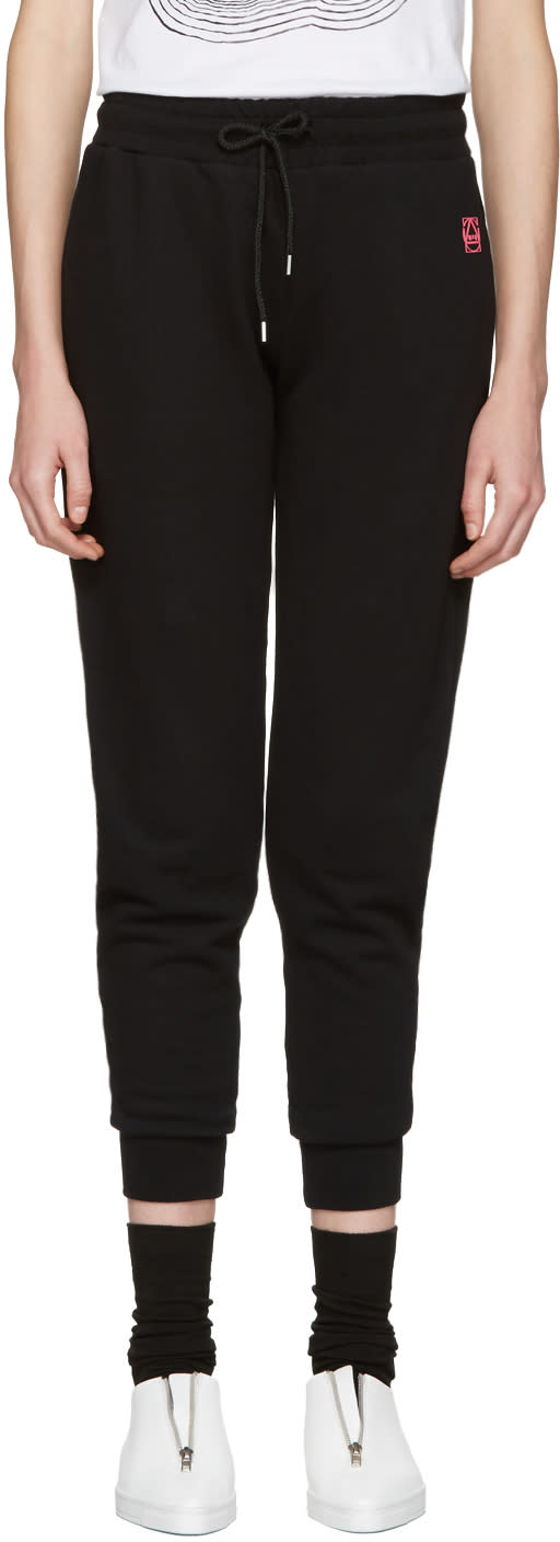 Mcq Alexander Mcqueen Black Slim Lounge Pants
