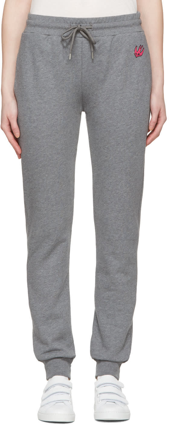 Mcq Alexander Mcqueen Grey Slim Lounge Pants