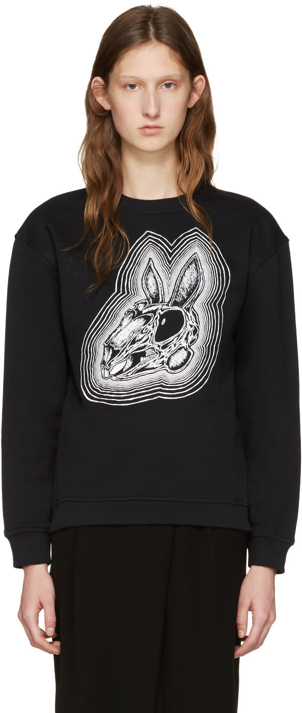 Mcq Alexander Mcqueen Black Be Here Now Pullover