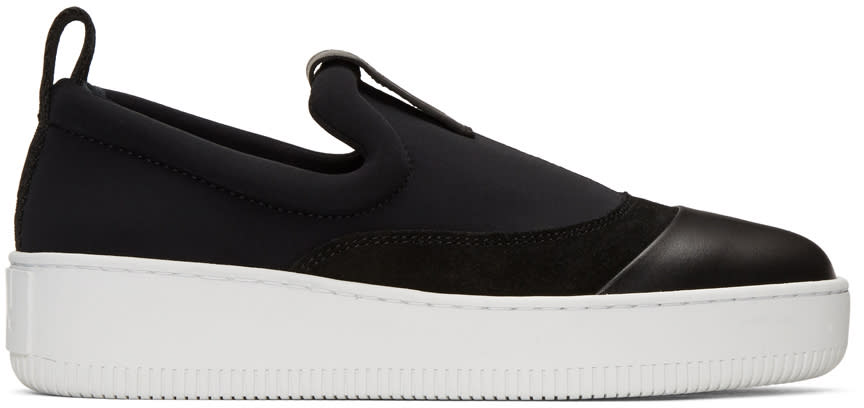 Mcq Alexander Mcqueen Black Neoprene Neil Sneakers