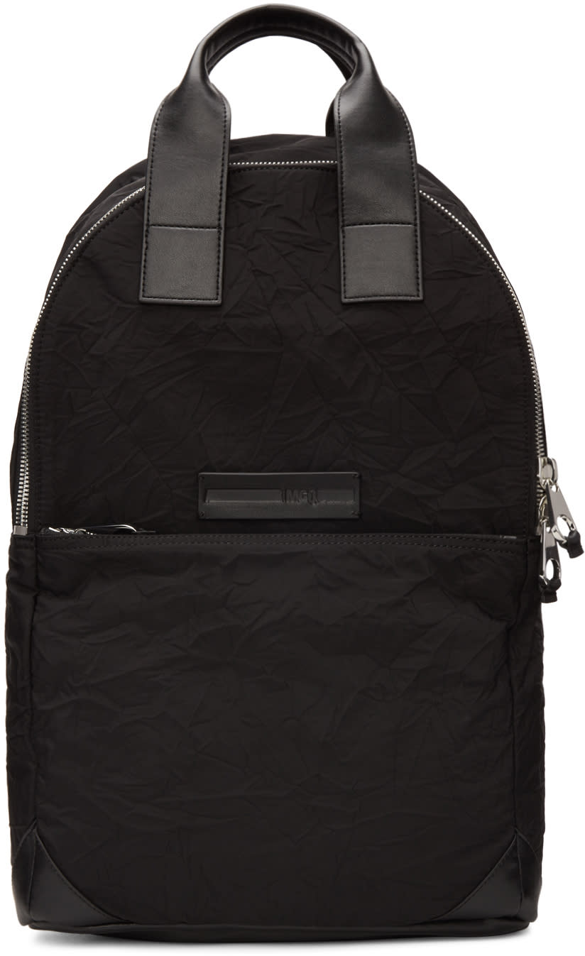 Mcq Alexander Mcqueen Black Tote Backpack