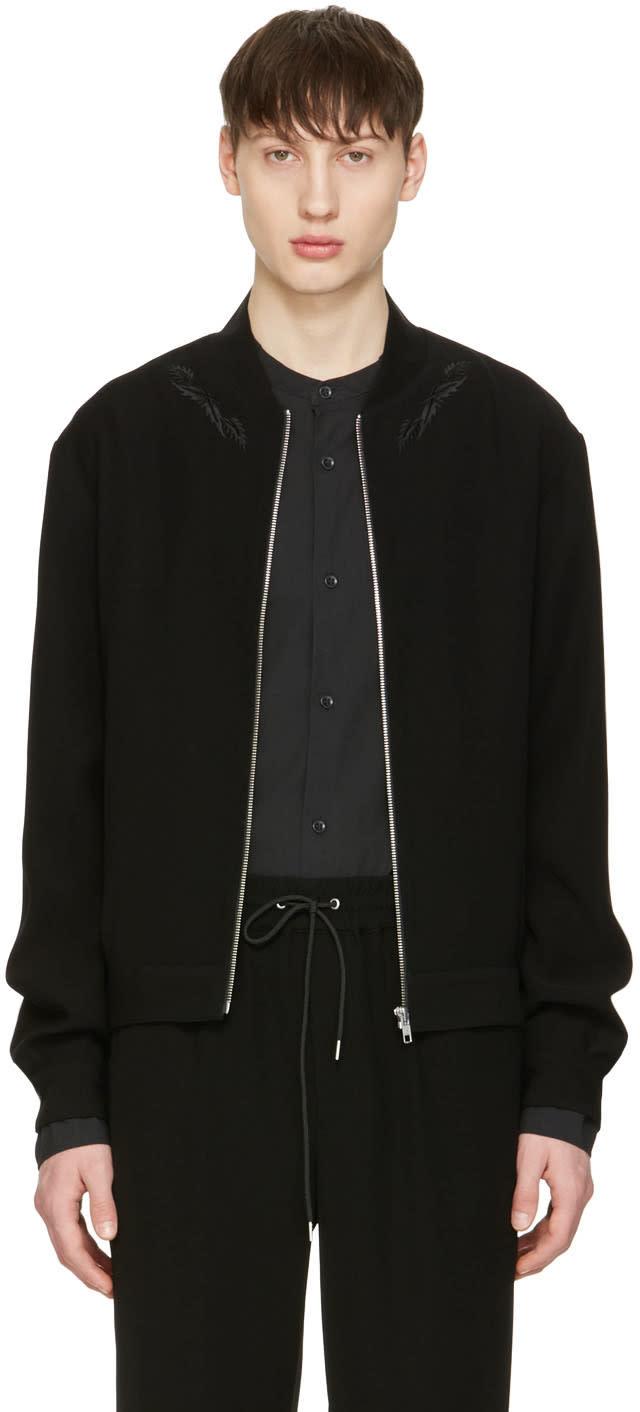 Mcq Alexander Mcqueen Black Olympic Jacket
