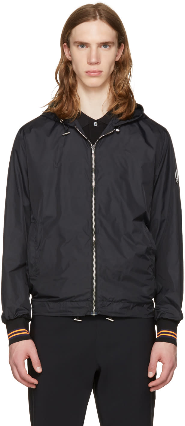 Mcq Alexander Mcqueen Black Hooded Jacket