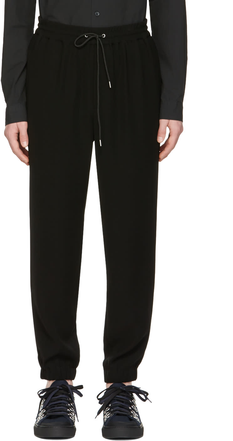 Mcq Alexander Mcqueen Black Tailored Lounge Pants