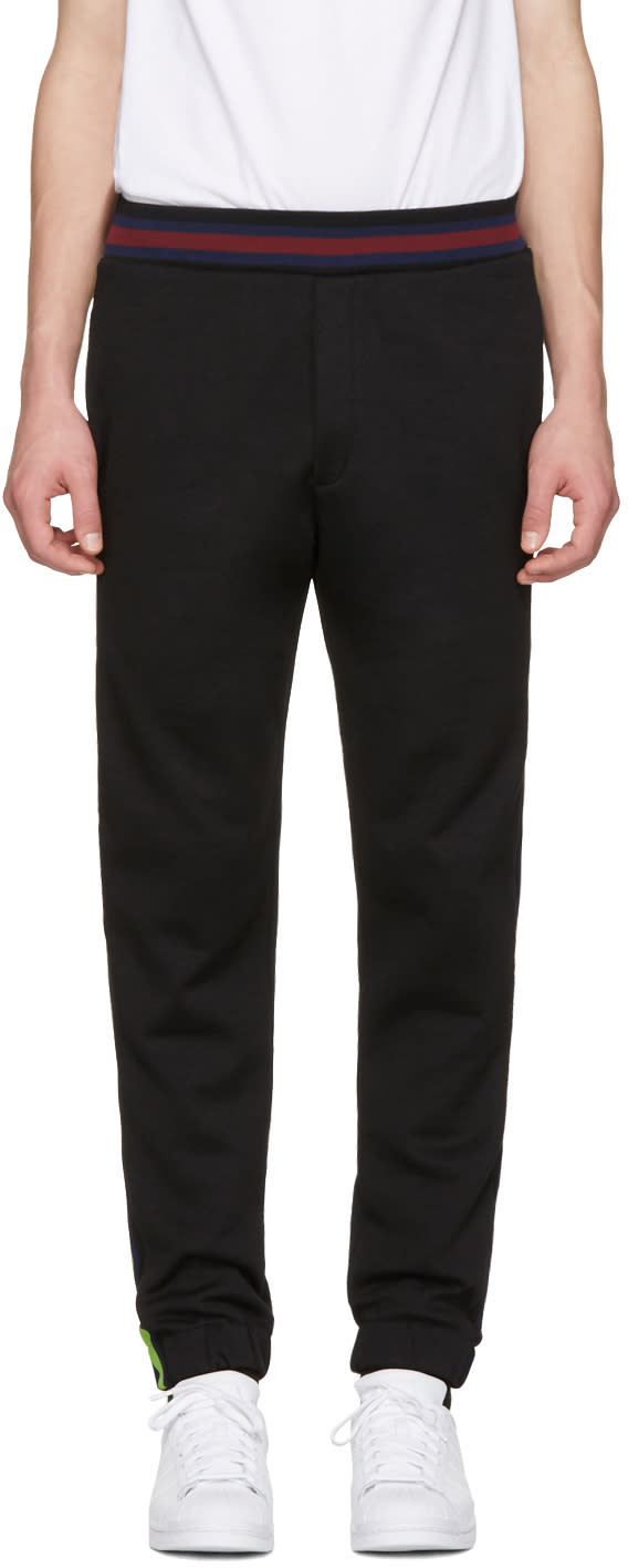 Mcq Alexander Mcqueen Black Cycle Lounge Pants