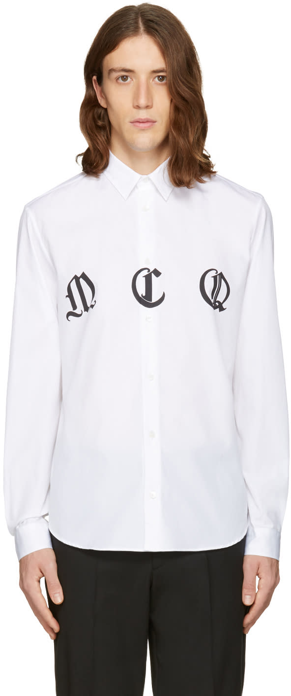 Mcq Alexander Mcqueen White Sheehan Shirt