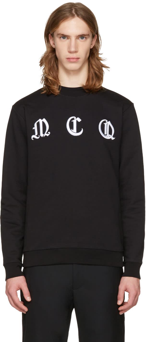 Mcq Alexander Mcqueen Black Clean Logo Pullover