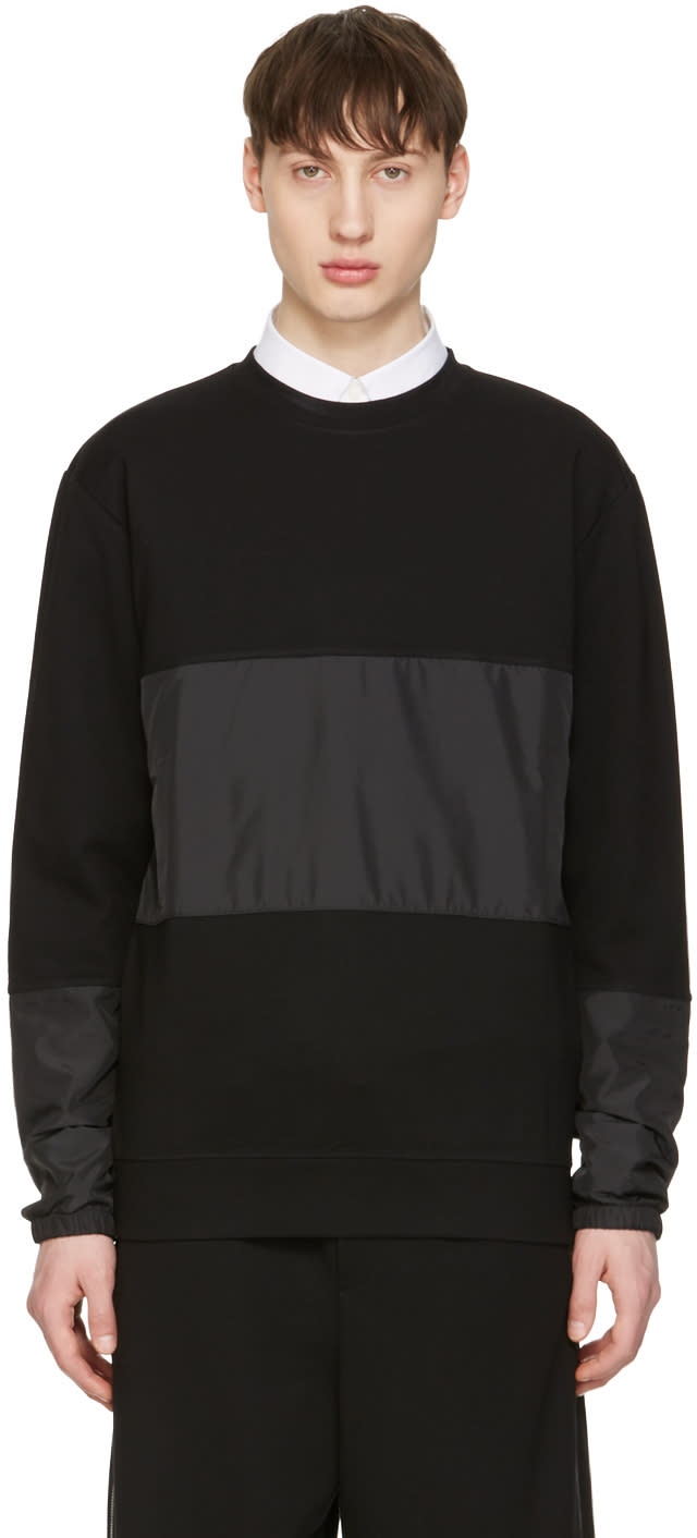 Mcq Alexander Mcqueen Black Viper Pullover