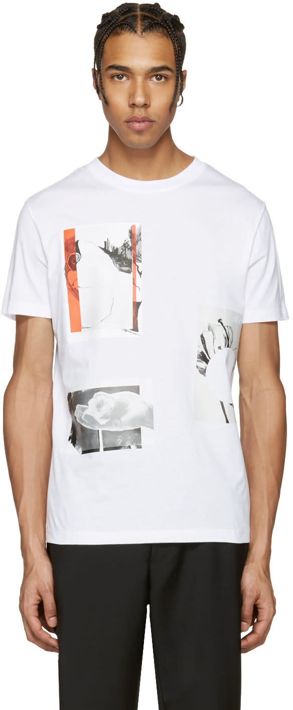 Mcq Alexander Mcqueen White Graphic T-shirt