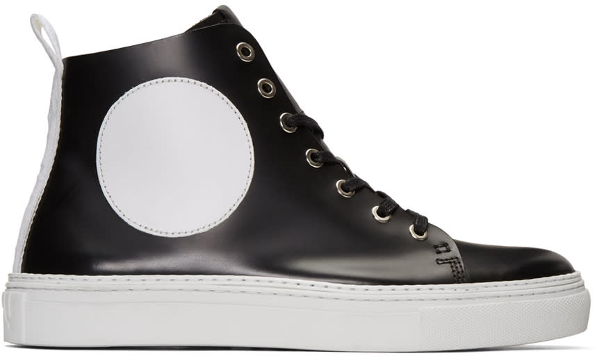 Mcq Alexander Mcqueen Black Chris Mid-top Sneakers