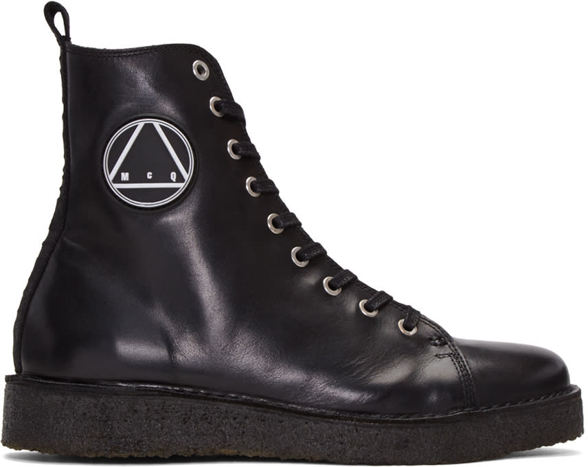 Mcq Alexander Mcqueen Black Chris High-top Sneakers