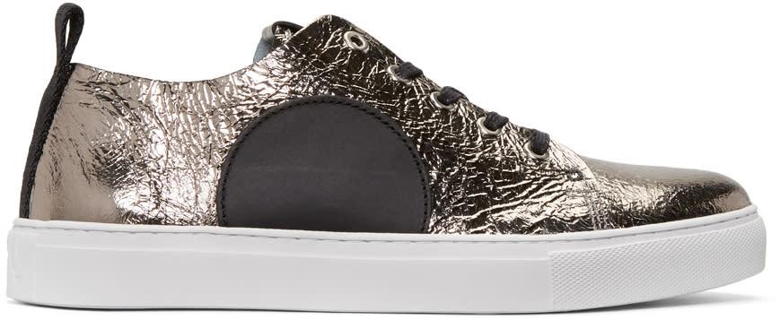 Mcq Alexander Mcqueen Silver Chris Sneakers