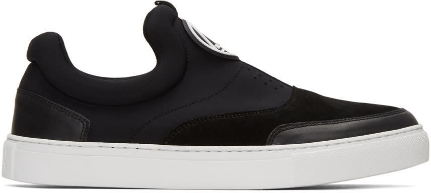 Mcq Alexander Mcqueen Black Youko Slip-on Sneakers