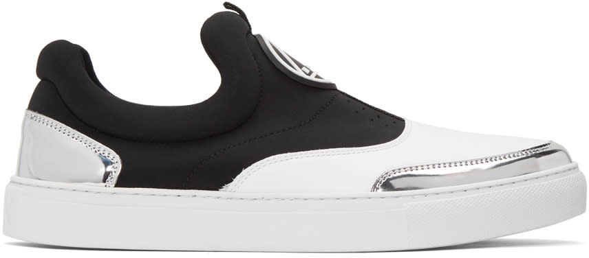 Mcq Alexander Mcqueen White Youko Slip-on Sneakers