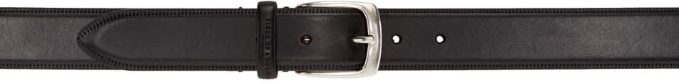 Tiger Of Sweden Black Bloomer Belt