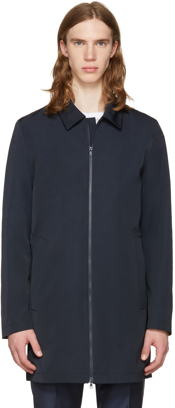 Tiger Of Sweden Navy Brumos Coat