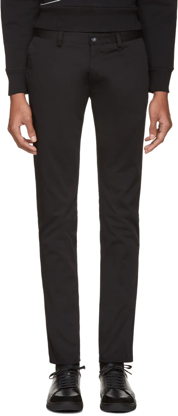 Tiger Of Sweden Black Transit Chino Trousers