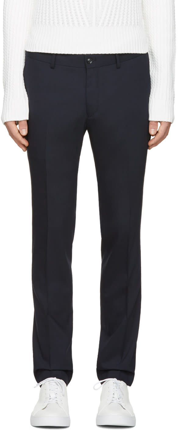 Tiger Of Sweden Navy Herris Trousers