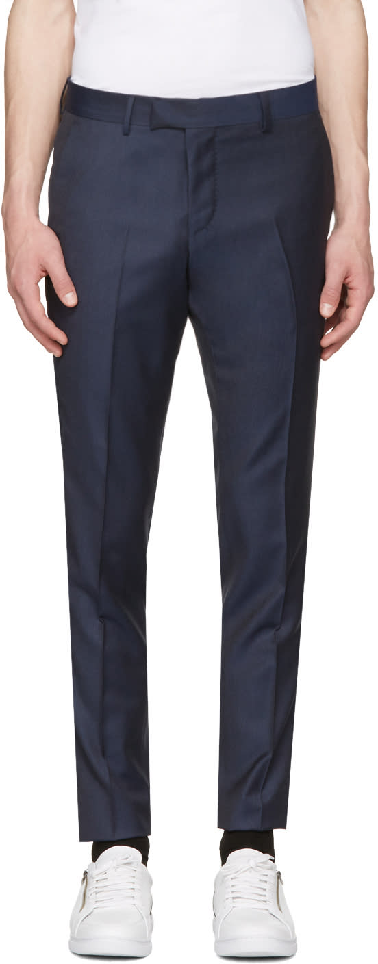 Tiger Of Sweden Blue Gordon 9 Trousers