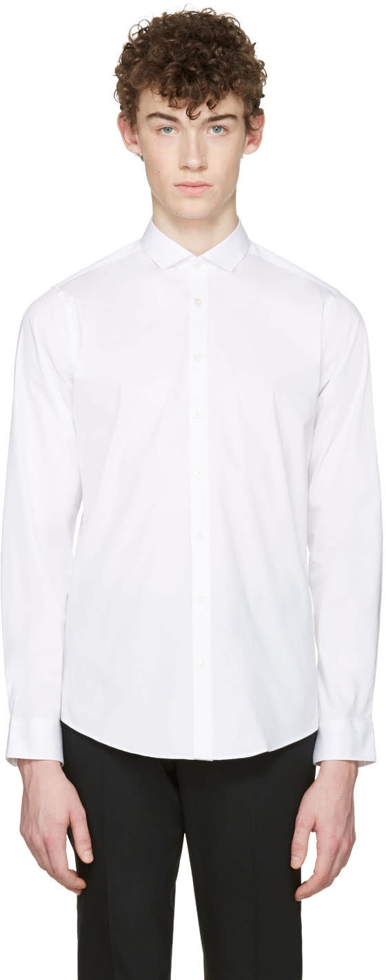 Tiger Of Sweden White Steel Shirt